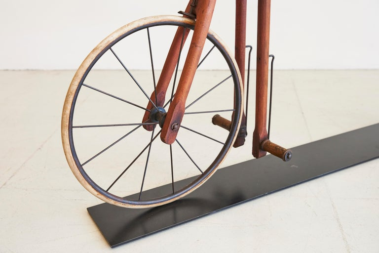 North American Life-Size Wood Bike For Sale