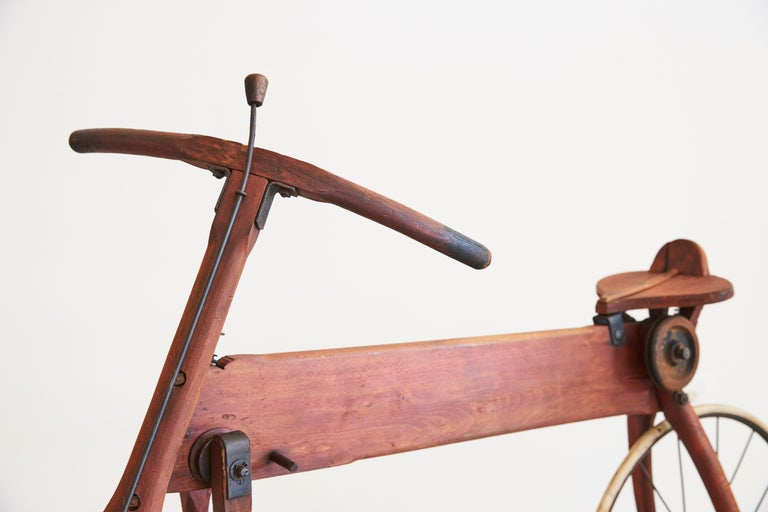 Life-Size Wood Bike For Sale 2