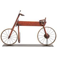 Life-Size Wood Bike