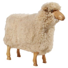 Life-Sized Sheep Stool by Hans-Peter Krafft for Meier, Germany, 1970s