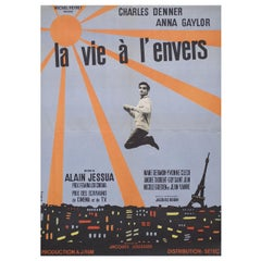 Life Upside Down 1964 French Moyenne Film Poster
