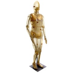 Lifesize Articulating X-Ray Dummy, Cold War Icon