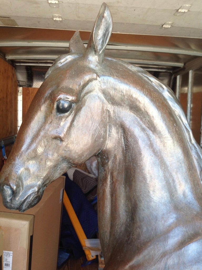 Lifesize Figure of a Horse 'Colt' In Good Condition For Sale In West Palm Beach, FL