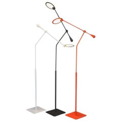 Light and Contrast, Trapeze LED Floor Lamp, Orange