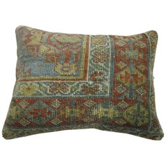 Light Blue Persian Rug Pillow