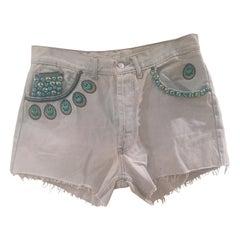 Light Blue SOAB denim shorts