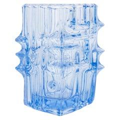 Light Blue Vase by Vladislav Urban for Sklo Union, 20th Century, Europe, 1960s