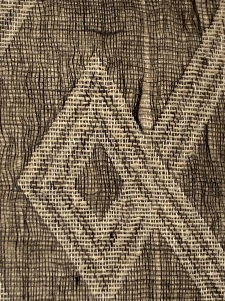 Light Brown, Dark Brown Animal Print Pattern Handspun Linen Pillows, Indonesia 4
