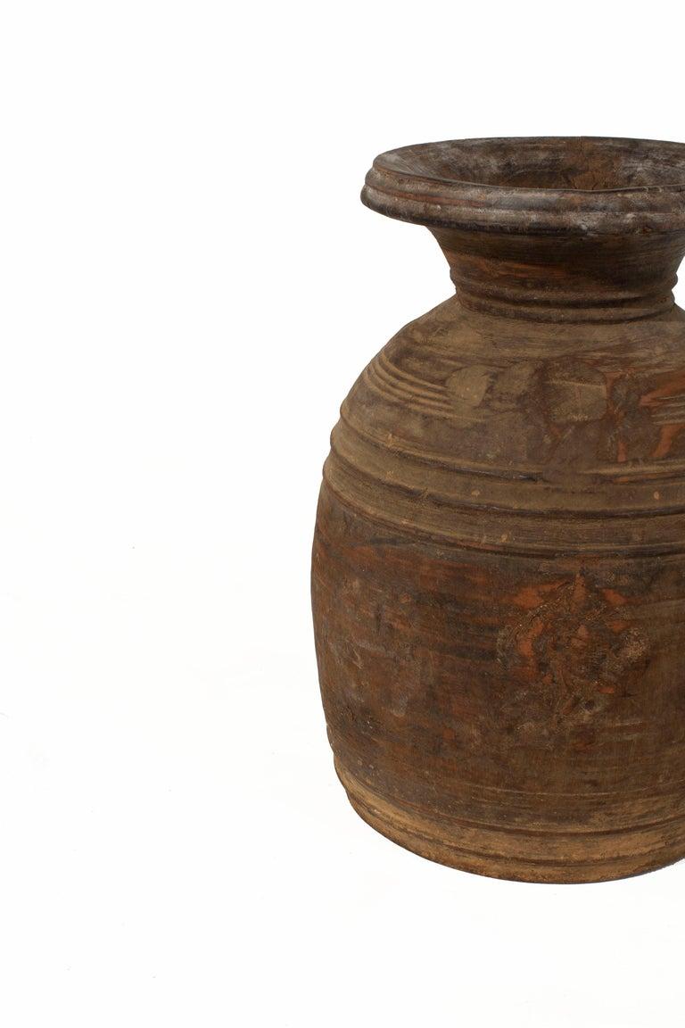 Light Brown Storage Jar For Sale 1