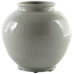 Light Celadon Crackle Glaze Chinese Vase