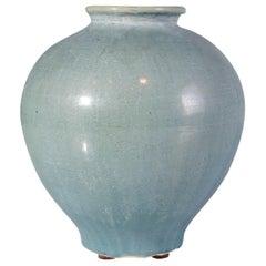 Light Celedon Jar