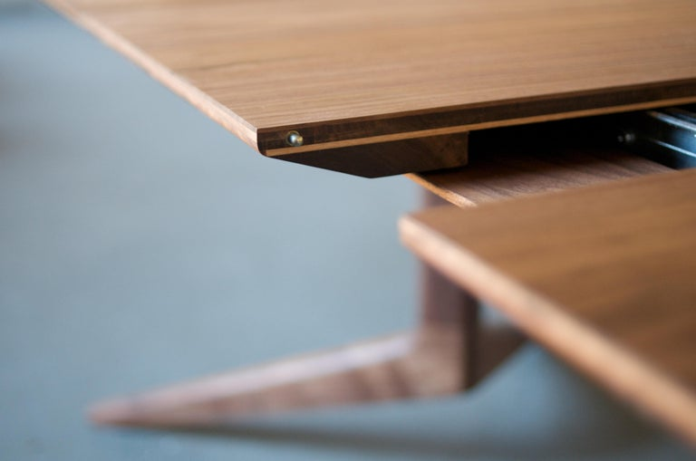 American Light Extending Dining Table in Walnut by Matthew Hilton For Sale