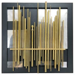 """""""Light forest"""" Wall Object Artwork by Laszlo Pal Horvath, 2005"""