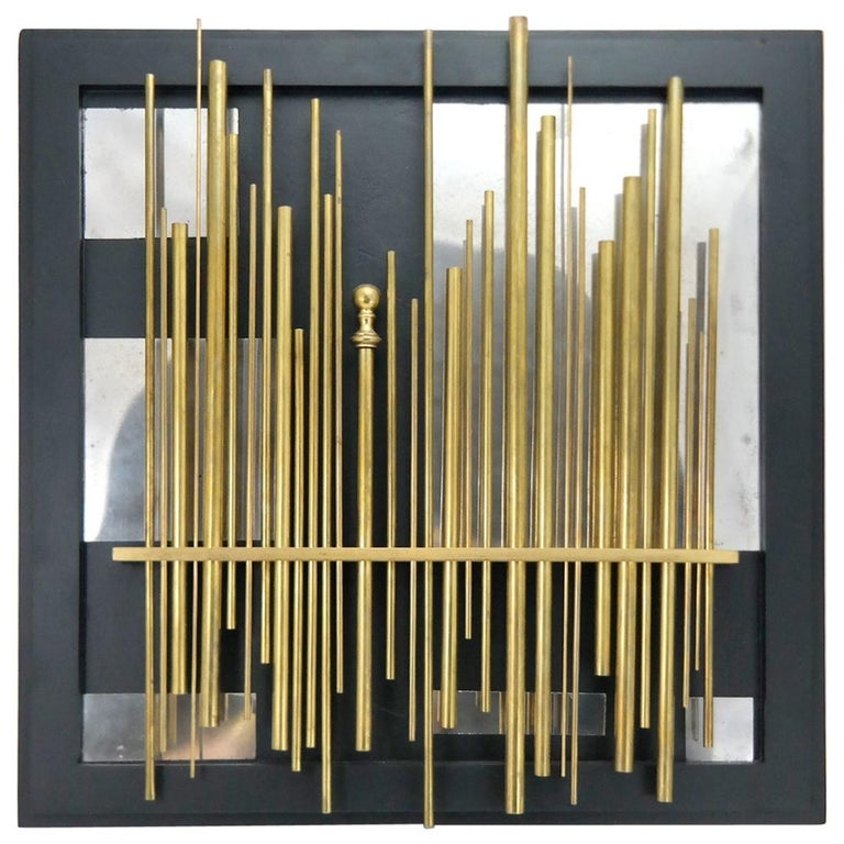 """Light forest"" Wall Object Artwork by Laszlo Pal Horvath, 2005 For Sale"