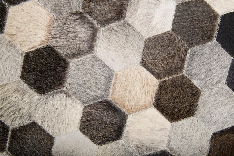 There's no regrets from a long line of happy Art Hide customers who've made this stunning rug pride of place at home! Your future interior will be beautifully grounded with soft tones of luxurious cowhide, each varying slightly to form a natural