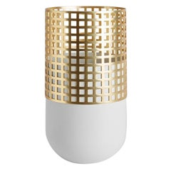 Light Grey Mia Tall Vase by Serena Confalonieri