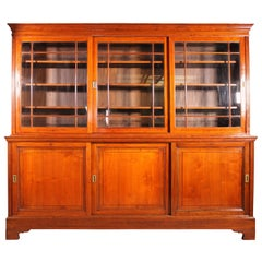 Light Mahogany Bookcase of the End of the 19th Century, England