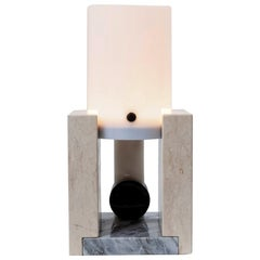 """Light Sculpture """"uu"""" of Echo Bauhaus Collection, Limited Edition by M2KR"""