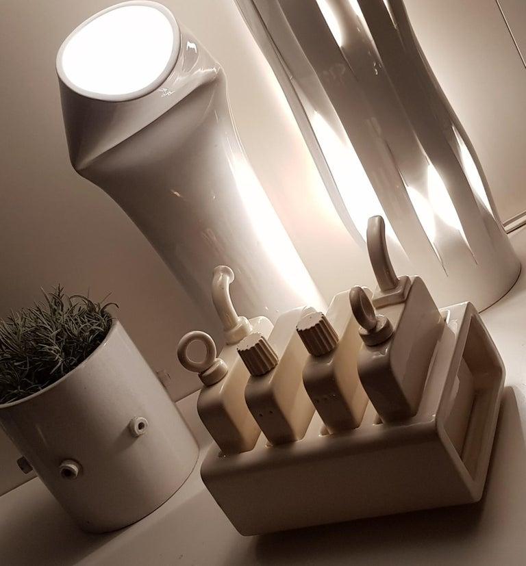 Italian Light Shot, Contemporary Table Lamps Contemporary Ceramic For Sale