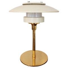 Light Studio by Horn White Table Lamp, Model 2686