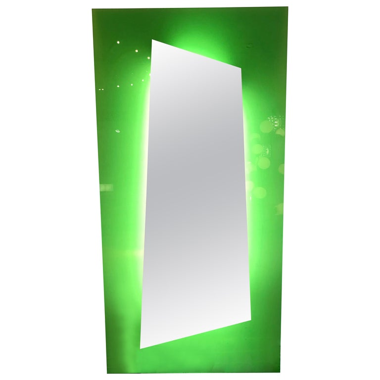 Lightning Mirror by Nanda Vigo for Glass Italia, Italy, 2008 For Sale