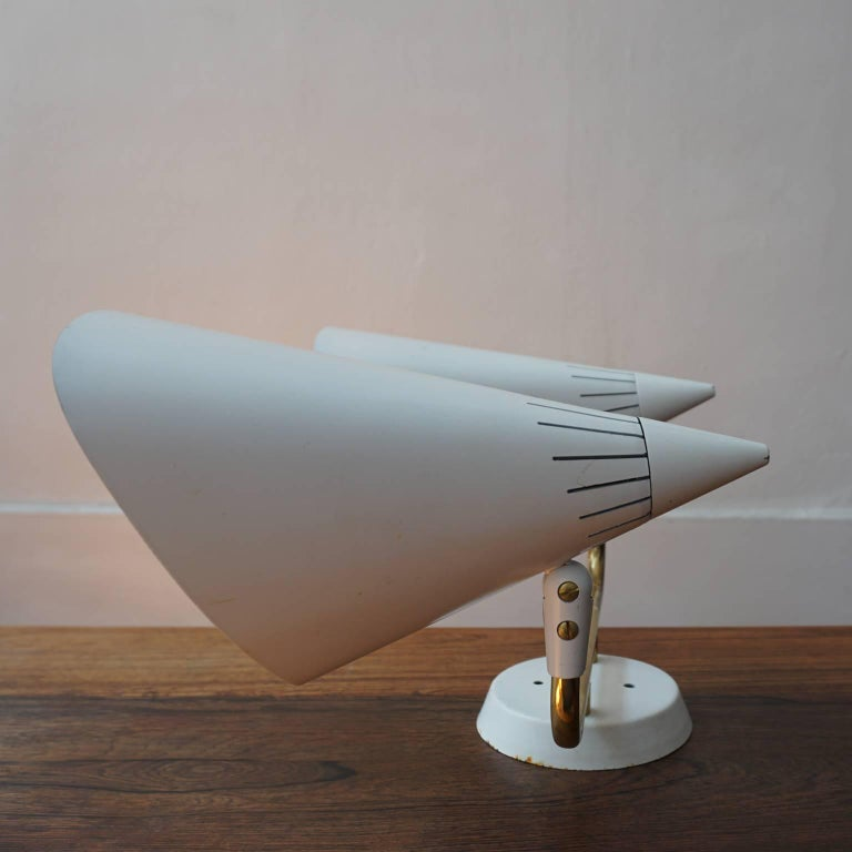 Lightolier Dual head Sconce, 1950s For Sale 3