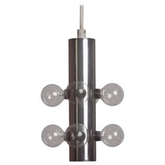 Lightolier Midcentury Atomic Pendant Light