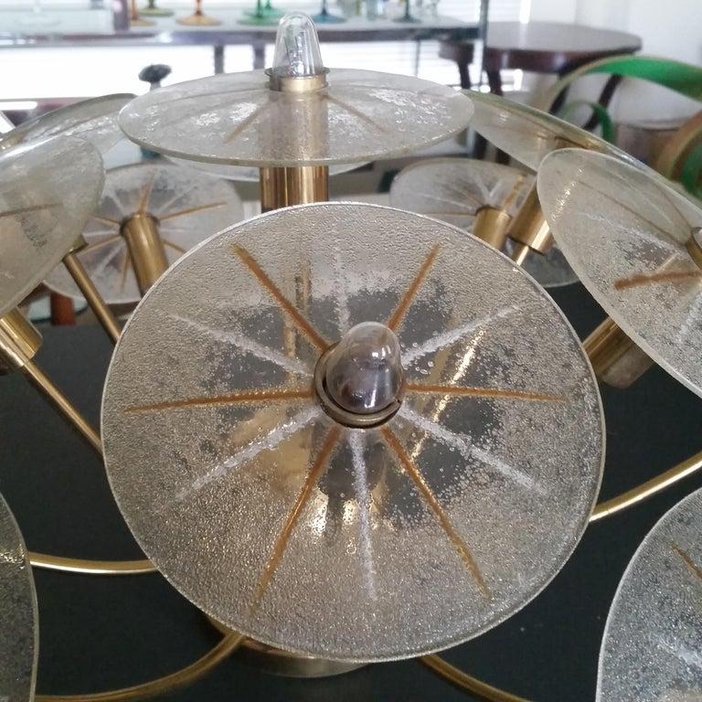 Lightolier Sunburst Flushmount Ceiling or Wall Light For Sale 4