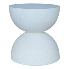 Lightweight Outdoor Bilbouquet Stool, 'White' by Zachary A