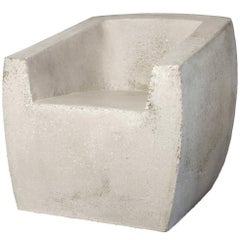 Lightweight Outdoor Chair in 'Natural Concrete' finish by Zachary A. Design