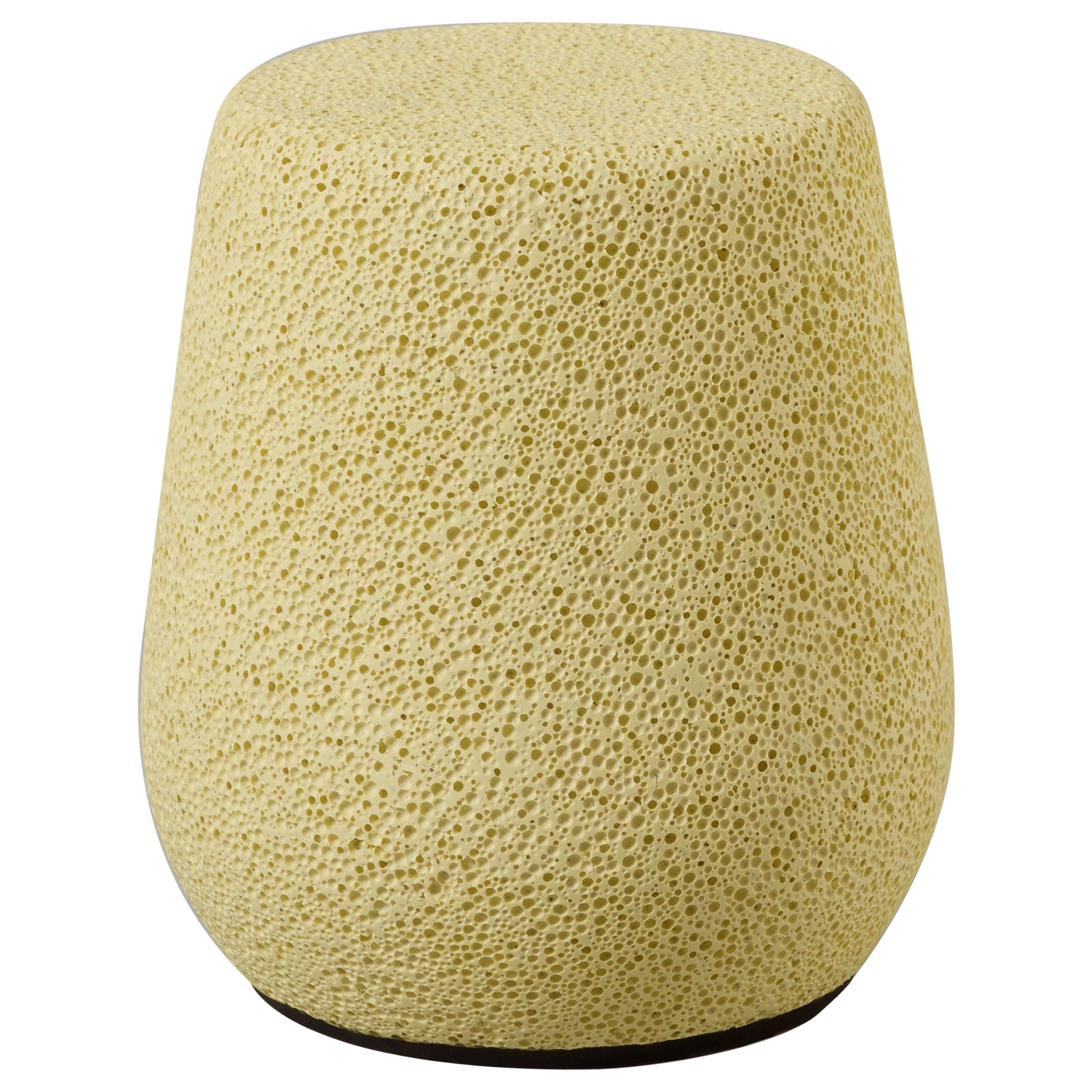 'Lightweight Porcelain' Children's Stool and Side Table by Djim Berger - Yellow