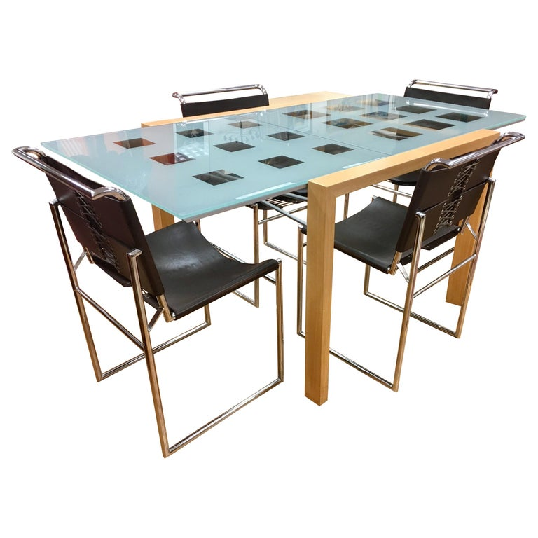 Expandable Dining Room Sets: Ligne Roset Dining Room Expandable Table And Marcel Breuer
