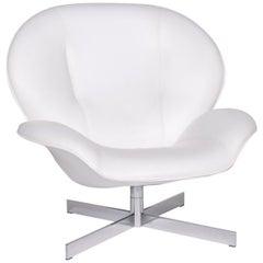 Ligne Roset MYO Leather Armchair White