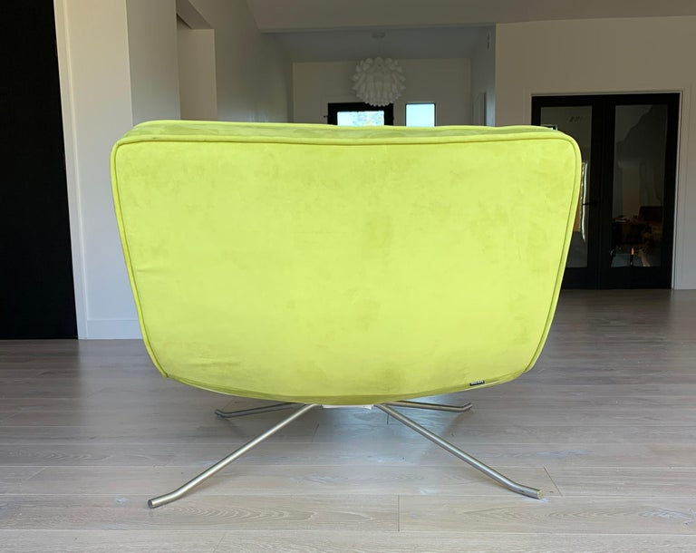 Contemporary Ligne Roset Pop Chair and Ottoman by Christian Werner For Sale