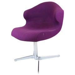 Ligne Roset Purple Chair