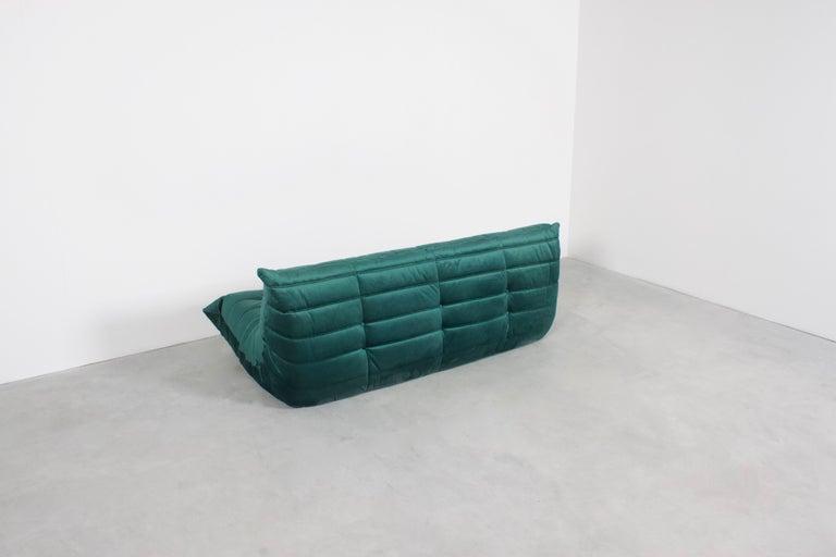 French Ligne Roset Togo 3-Seat Sofa by Michel Ducaroy