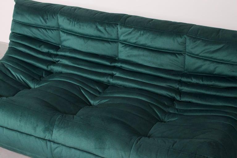 Ligne Roset Togo 3-Seat Sofa by Michel Ducaroy In Excellent Condition In Echt, NL