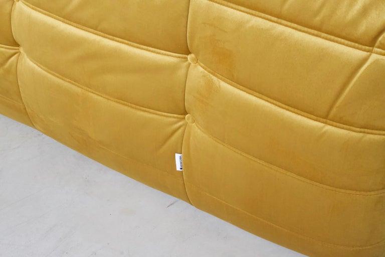 20th Century Ligne Roset Togo 3-Seat Sofa by Michel Ducaroy For Sale