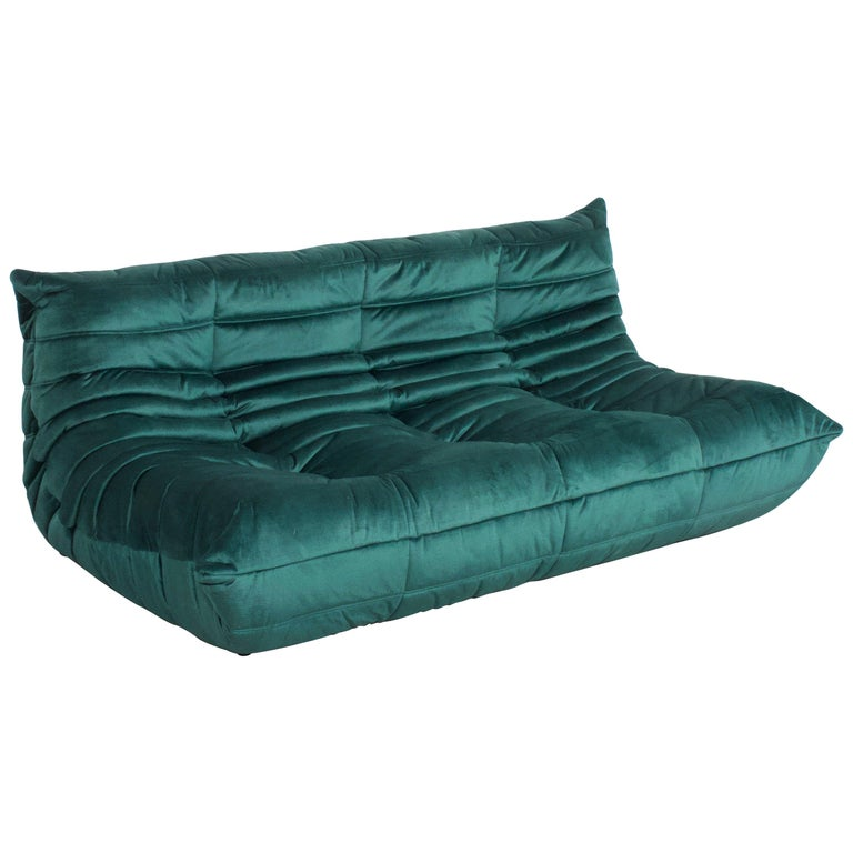 Ligne Roset Togo 3-Seat Sofa by Michel Ducaroy For Sale