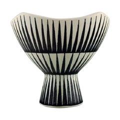 Liisa Hallamaa Larsen for Arabia, Unique Vase in Glazed Stoneware, 1960s
