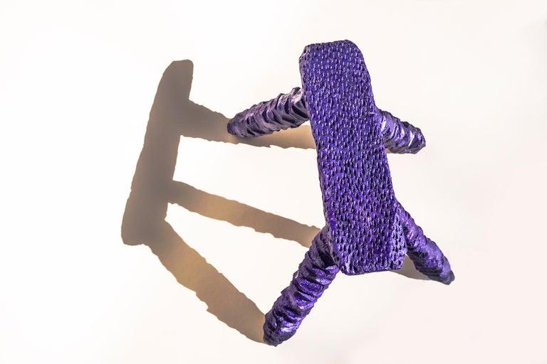 Modern Lila Stool by Lilia Cruz Corona Garduño For Sale