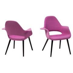 Lilac Organic Chairs by Charles Eames & Eero Saarinen