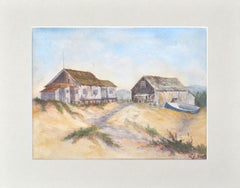 Old Davenport Whaling Village A Whaler's Cottage,  by Lilian Jackson Heath