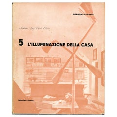 L'ILLUMINAZIONE DELLA CASA, Lighting for the Home 'Quaderni di Domus', Book