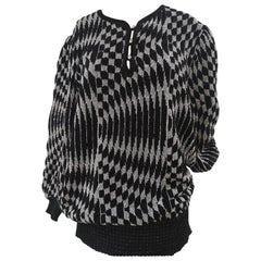 Lilly florence black and silver sweater