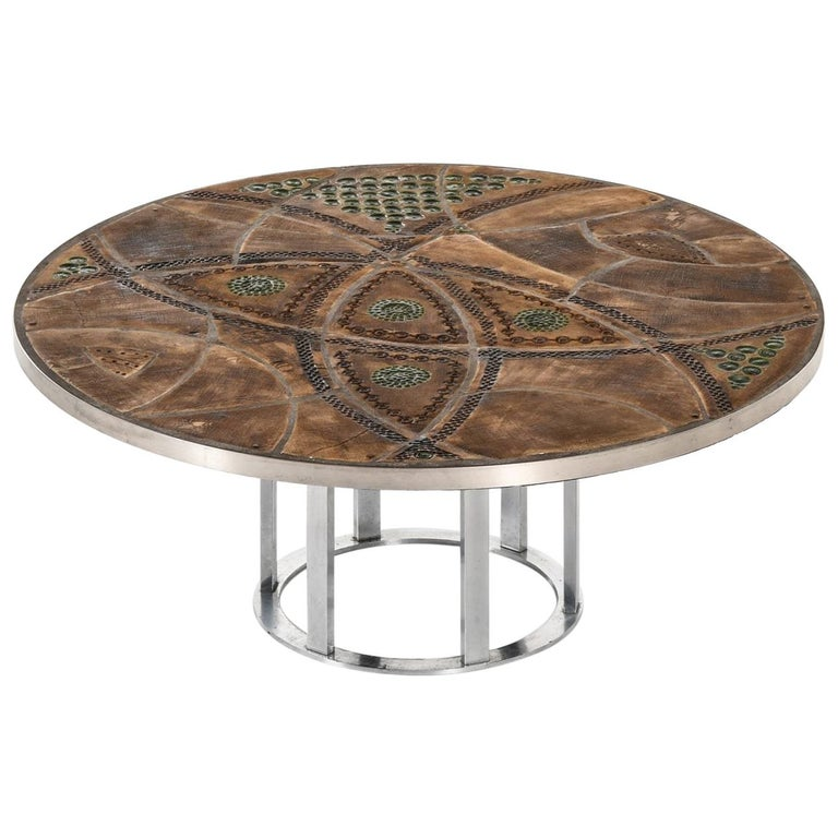 Lilly Just Lichtenberg Coffee Table Produced in Denmark For Sale