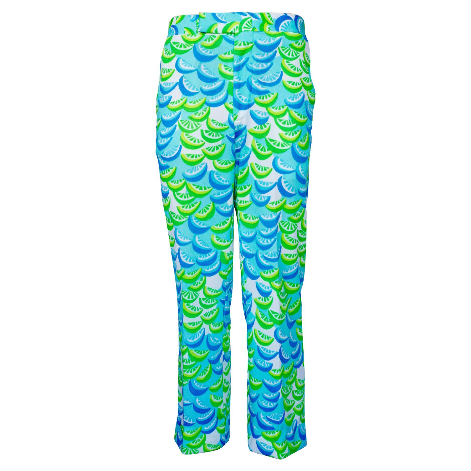 Lilly Pulitzer Citrus Pattern Golf Pants