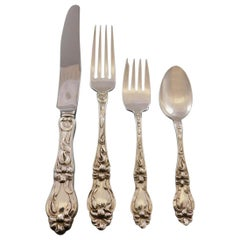 Lily by Frank Whiting Sterling Silver Flatware Set for 12 Service 48 Pcs Dinner