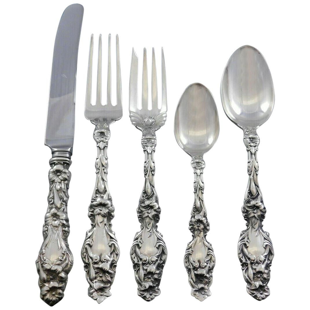 """Sterling Gorham LILY OF THE VALLEY FORK  7 1//4/""""   No Mono"""