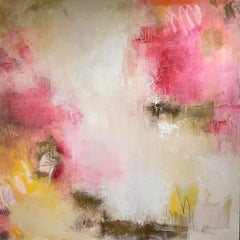 Poppies by Lily Harrington, Large Abstract Painting on Canvas